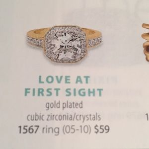 Premier Designs Love at first sight ring